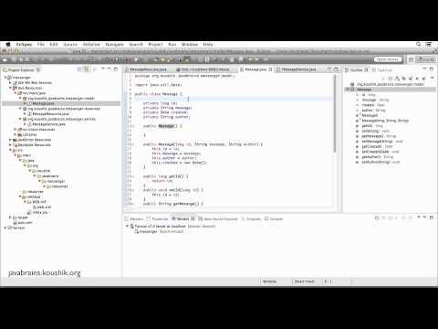 REST Web Services 14 - Returning XML Response