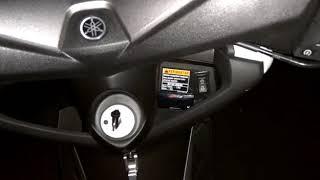 Yamaha Nmax Pasang HID Projie mitsubishi Outlander + electric Leveling