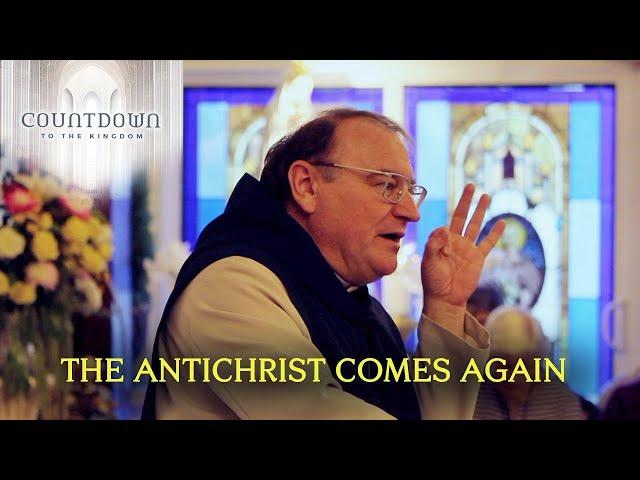 Fr. Michel Rodrigue talar um fortíð og framtíð andkristurs í heiminum