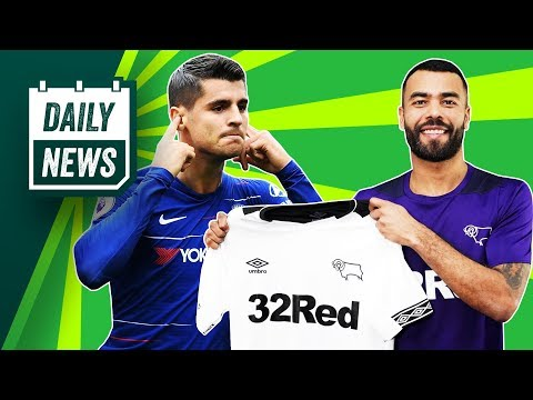 Morata returns to Madrid, SHOCK Barcelona signing + Ashley Cole joins Derby ► Onefootball Daily News
