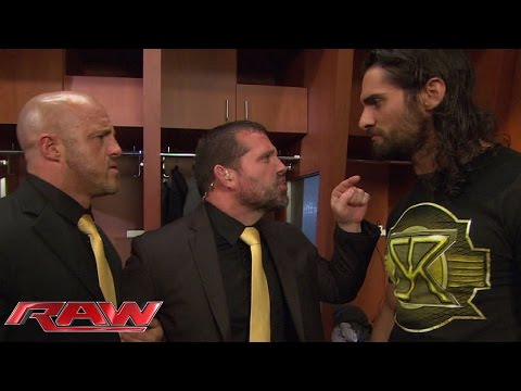 J&J Security give Seth Rollins a piece of their mind: Raw, June 8, 2015