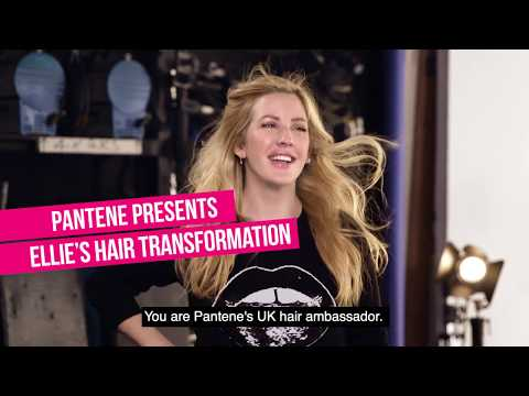 Ellie Goulding's Hair Transformation with Pantene