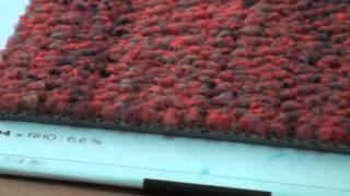 видео Ковровая плитка для офиса