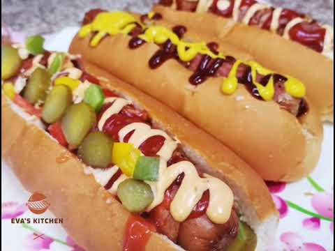 ساندوتشات الهوت دوج بطريقة المطاعم Youtube