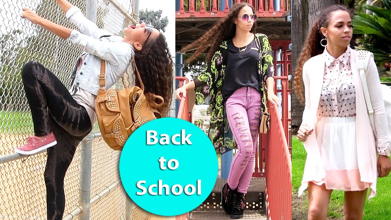 18a4e7d2dc2ca3 Back to School Outfits 6 Back to School Outfit Ideas - YouTube