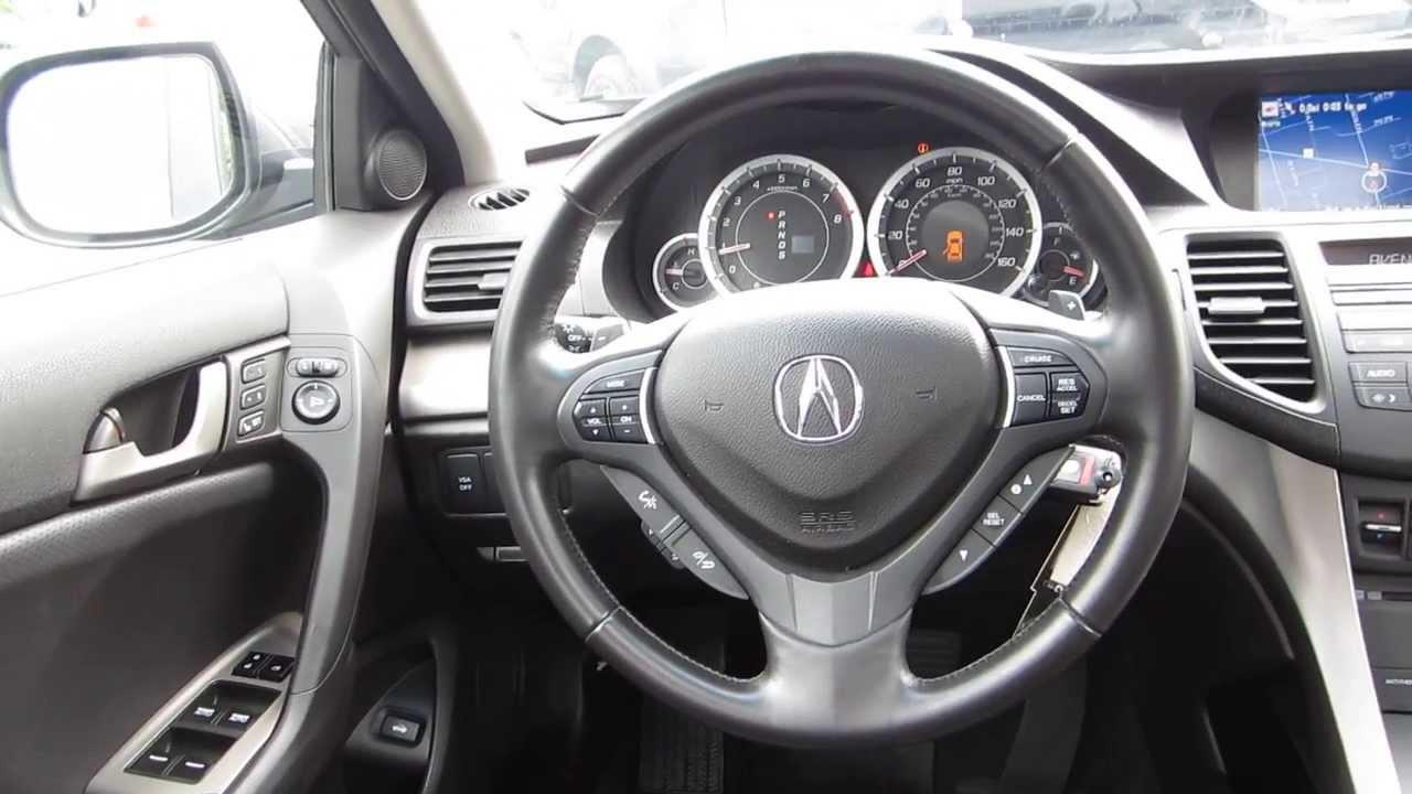 2010 acura tsx  gray - stock  131788a - interior
