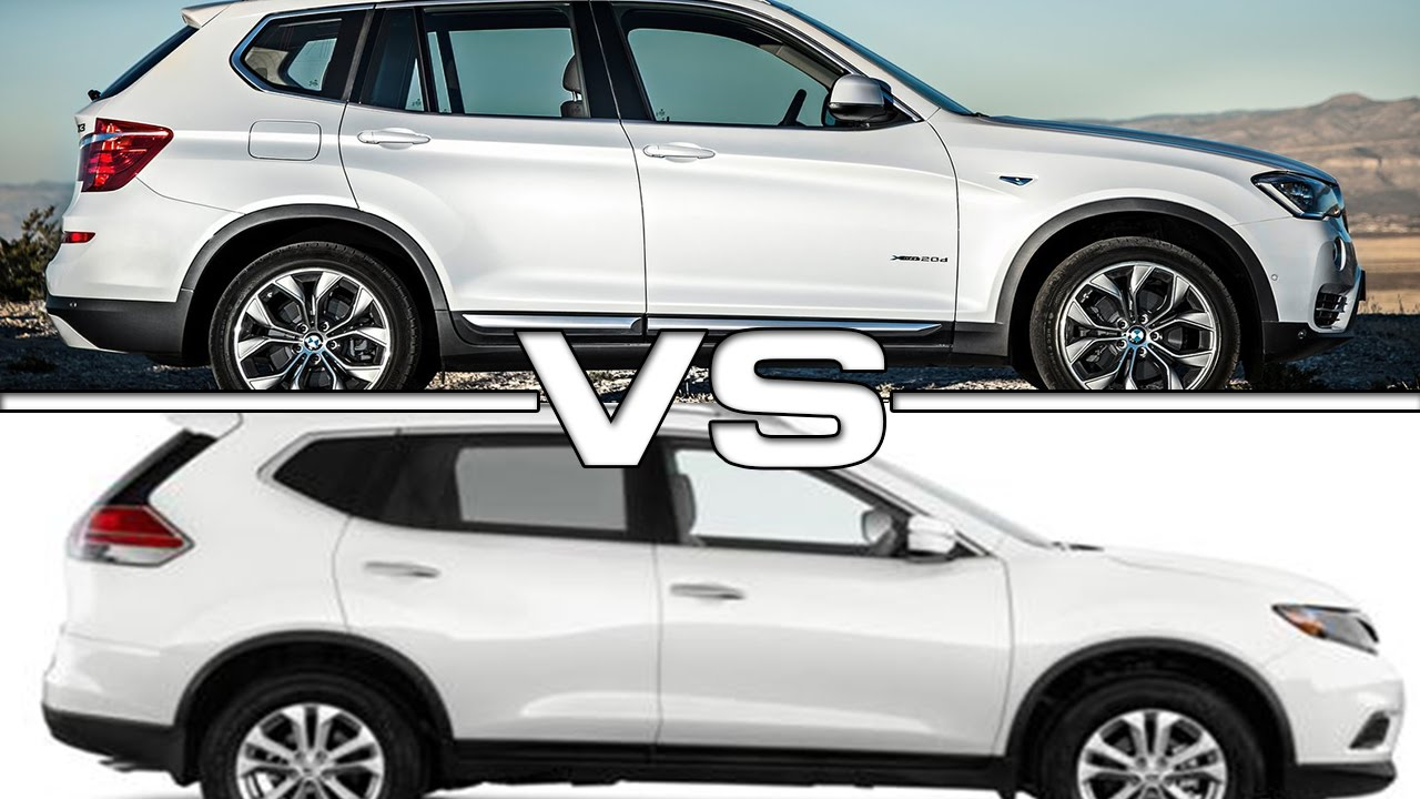 bmw x3 vs. toyota rav4