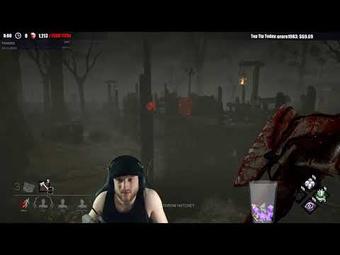 Dead by Daylight WITH...HUNTRESS! - HAPPY IT WAS EZ FOR SOMEONE!