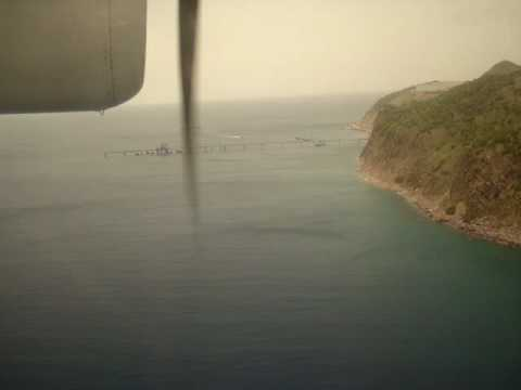 Landing in St. Eustatius (Statia) - June 5th, 2010