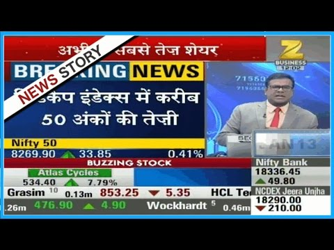 Top 50 Shares : Nifty strongly holding above 8250, Sensex at 26859