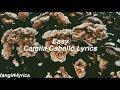 Easy || Camila Cabello Lyrics