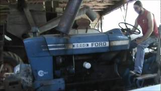ford 6600 cold start