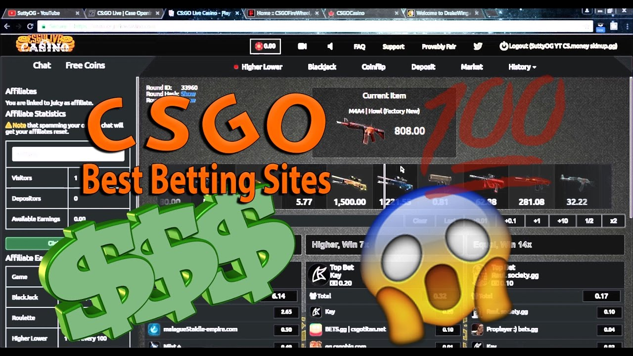 Csgo Skin Betting Sites