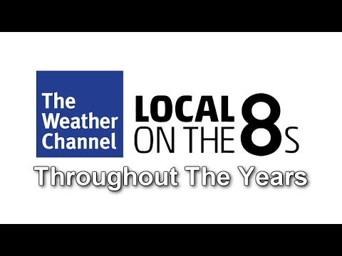 The Weather Channel's Local on the 8's Throughout The Years