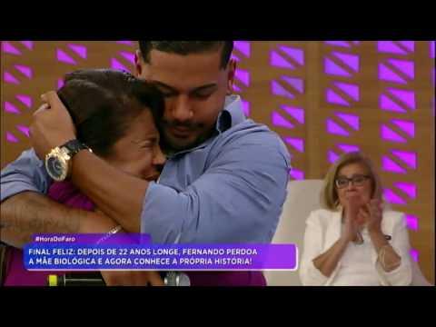 Fernando perdoa a mãe biológica e agora conhece a própria história