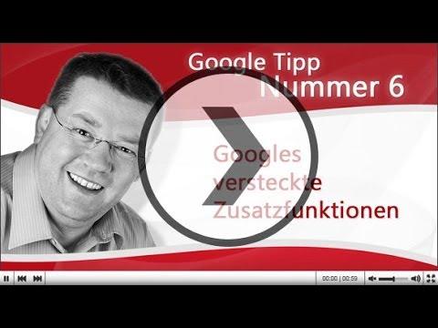 Google Suchfunktionen (site, intext, inurl, allinurl, intitle)