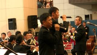自衛官が歌う ゆず『栄光の架橋』 - 海上自衛隊横須賀音楽隊
