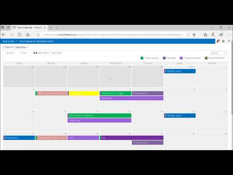 SP Calendar Integration Exchange | VirtoSoftware