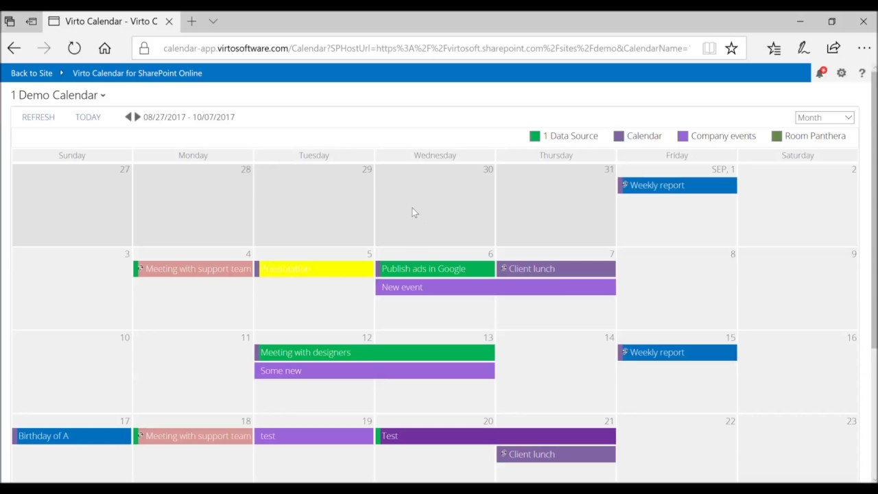 how to overlay office 365 calendars with exchange online calendars