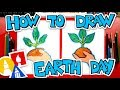 How To Draw A Hand Holding A Plant   Earth Day