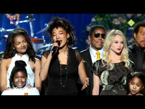 HIQ Michael Jacksons Memorial  We Are The World & Heal The Worldwmv