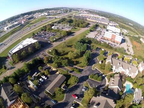 Helicopter Flight Over Knoxville, TN