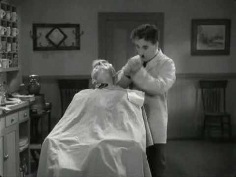 Charlie Chaplin - The Great Dictator  - Very Funny Barber Scene
