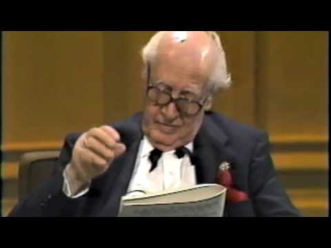 """Fred Benedetti performs """"Chaconne"""" at the Andres Segovia masterclass of 1986"""