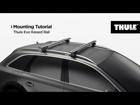 Thule Evo Raised Rail 7104 видео