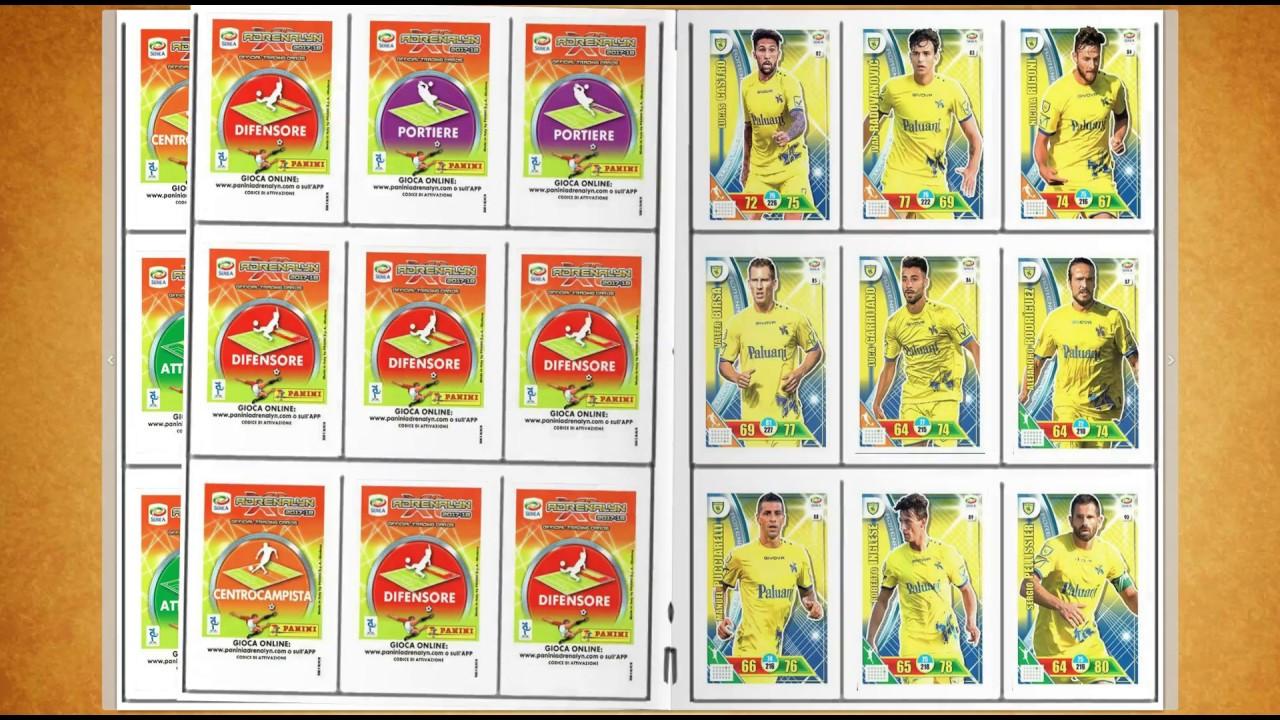 Calciatori Adrenalyn Xl 2017 2018 Album Completo Con Plus Cards Youtube