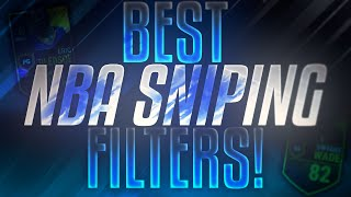 BEST NBA LIVE MOBILE SNIPING FILTERS!! 100K+ AN HOUR!! | NBA Live Mobile