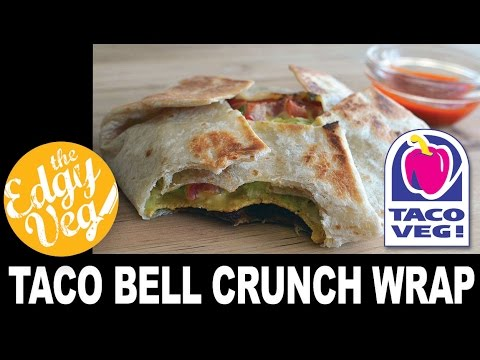 Vegan Recipe: Tacobell Crunch Wrap Supreme