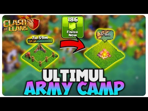 Ultimul Army Camp   Clash of Clans Romania