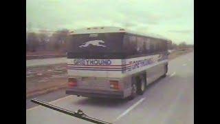 """Ridin' the Dog""   1989 Greyhound Buses Documentary"