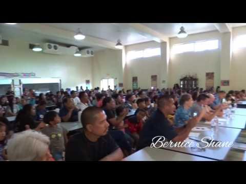 Talent Show -  (Chandelier) San Vicente Elem  School Saipan (CNMI)