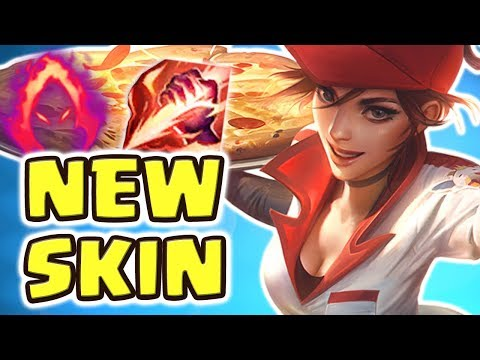 NEW PIZZA DELIVERY GIRL SIVIR JUNGLE SPOTLIGHT | 100% CRIT BEST SKIN EVER | WE MADE HIM RAGE QUIT