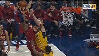 LeBron James Dunks On The Entire Pacers Team!