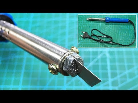 How To Make Hot Knife Cutter  Acrylic, Plexiglass, Plastic, PVC And Foam Cutter