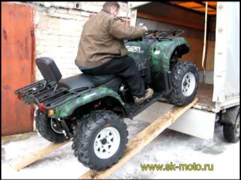 Двухместный квадроцикл CF-MOTO ATV 500