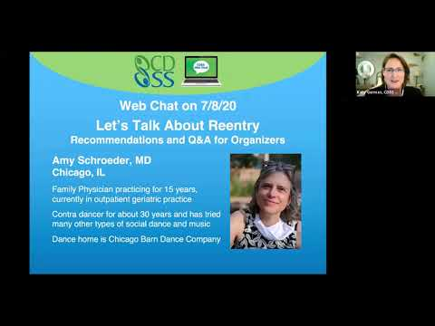 CDSS Web Chat: Let's Talk About Reentry