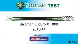 Тесты горных лыж Salomon Enduro XT 800 (2013-2014)