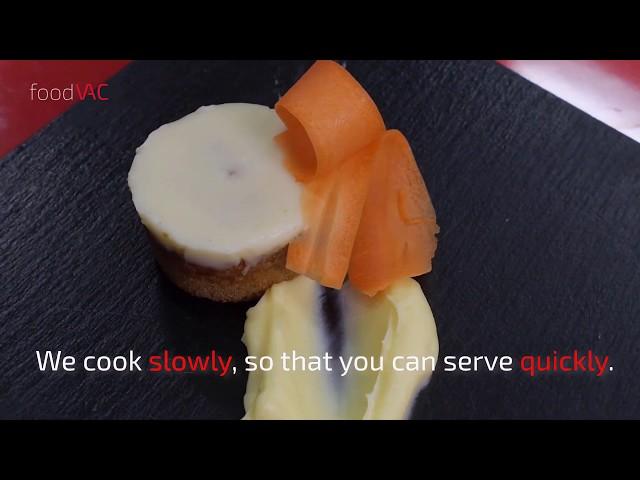 foodVAC Carrot Cake Regeneration