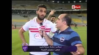 شاهد..الشناوي: «عبدالله السعيد حيرني في ضربات الجزاء»