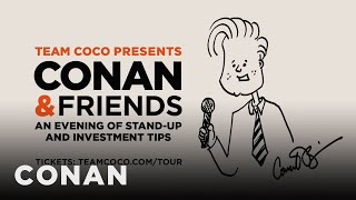Conan Announces His Stand-Up Tour  - CONAN on TBS