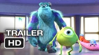 Monsters, Inc. 3D Official Trailer #1 (2012) Pixar Animated Movie HD
