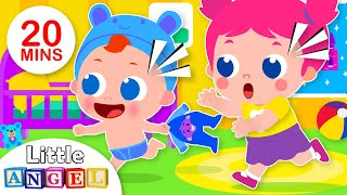 This is The Way We Go To Bed | Kids Songs & Nursery Rhymes by Little Angel
