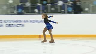 Первенство России младшего возраста Девушки Cтaршая группа ПП 6 Анастасия КАРПОВА РОБ