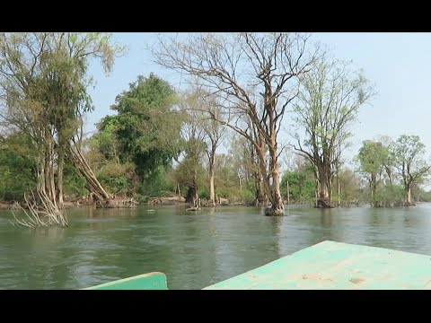Boat Tour on The Mekong River in Cambodia