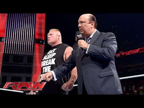 Triple H chooses John Cena's SummerSlam opponent: Raw, July 21, 2014
