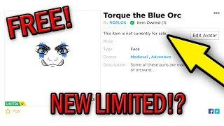 HOW TO GET TORQUE THE BLUE ORC! 100% FREE AND WORKING! 2019! (Roblox Gameplay)